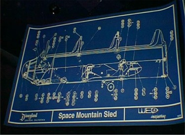 Space Mountain Sled Blueprint In Queue