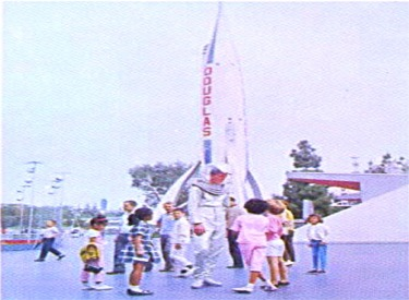 Douglas Moonliner With Space Man