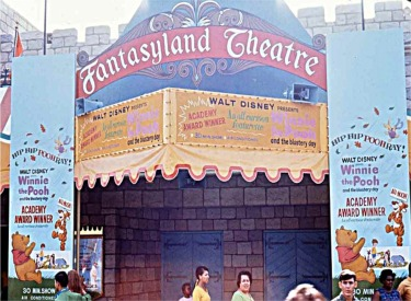 Fantasyland Theatre Entrance