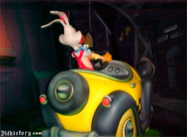 Roger Rabbit In Cab