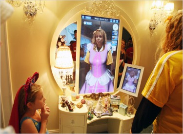 Dream Home Girls Bedroom Magic Mirror