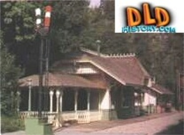 Restored Original Frontierland Station