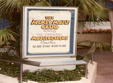 Mickey Mouse Club - Sign