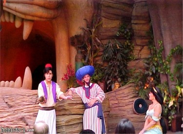 Aladdin With Magic Lamp, Princess Jasmine And Genie