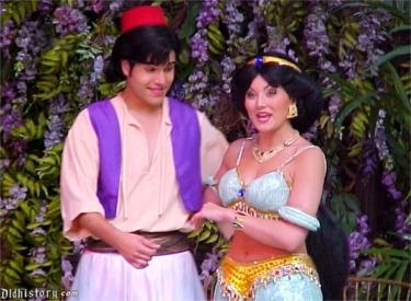 Aladdin Escapes From Cave With Magic Lamp