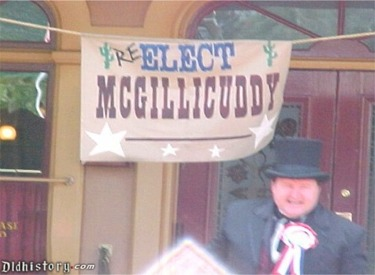 Re Elect Mcgillicuddy