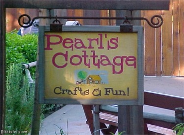 Pearls Cottage Sign