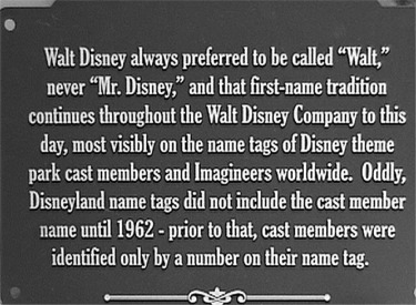 Sign About Walt