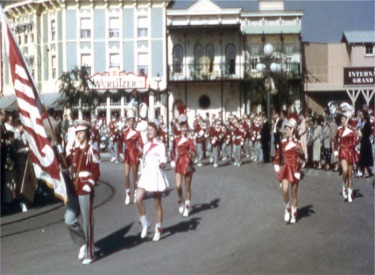 High Stepping Drum Majorettes Of The Lodi High Band