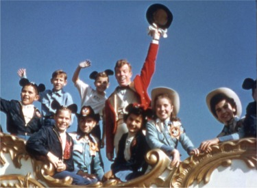 Mouseketeer Jimmie Dodd And The Mouseketeers In The Parade