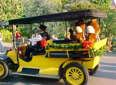 Horseless Carriage With Chip And Dale