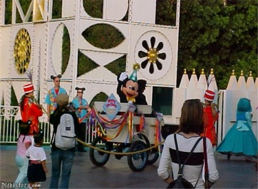 Parade Car With Mickey Mouse