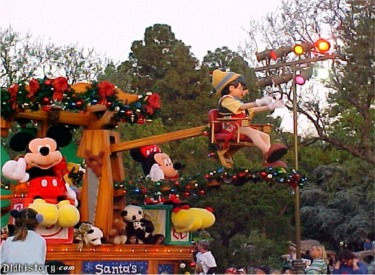 Pinocchio Float