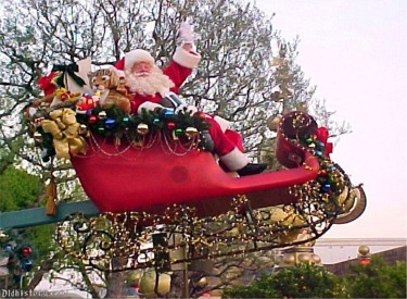 Santa Claus Float