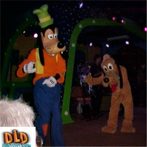 Pluto and Goofy Dancing