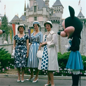Scandinavian Princesses Pose With Minnie Mouse
