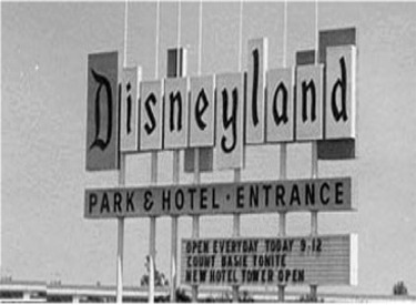 Original Disneyland Sign