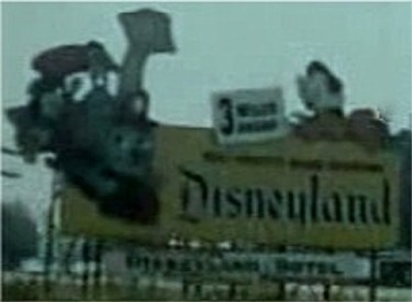 Freeway Billboard for Disneyland
