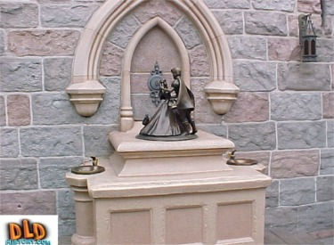 Fantasyland Water Fountain