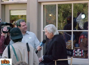 Fess Parker Being Interviewed By Disney TV
