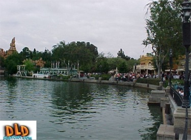 Frontierland From New Orleans Square