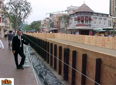 Swimming Pool Being Built On Main Street