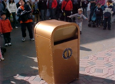 The Dancing Talking Trash Can