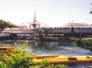 Yellow Submarine, Space Mountain, Monorail and Rocket Jets
