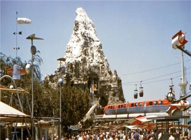 Tomorrowland Looking Towards Matterhorn