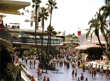 Tomorrowland Looking Towards People Mover