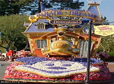 Lead Disneyland Railroad Float
