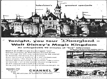 Disneyland Grand Opening Telecast On WABC