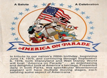 Ad For America On Parade