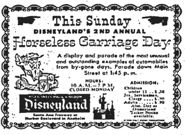 Horseless Carriage Day