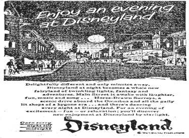 Enjoy An Evening At Disneyland