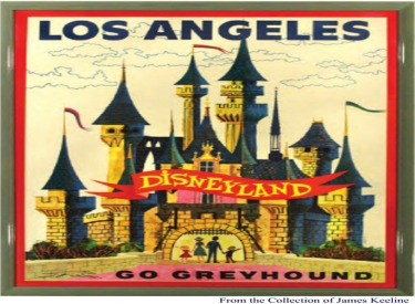 Go Greyhound To Disneyland