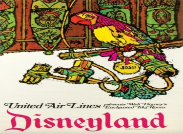 Enchanted Tiki Room United Airlines Ad