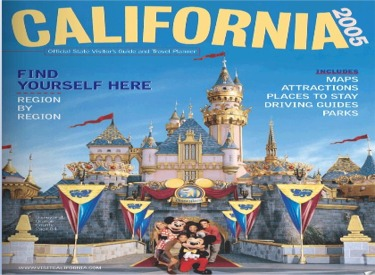 California Tourism Magazine Cover