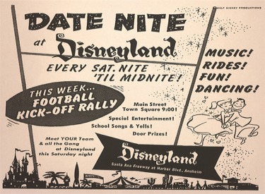 Disneyland Date Night Advertisemet