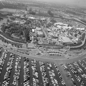 Aerial View Pointing North Opening Day(1955)