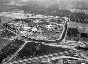 Aerial View Pointing West(1955)