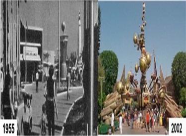Disneyland Land Tomorrowland