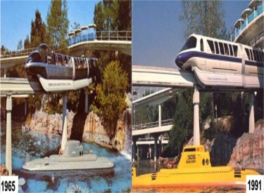 Monorail, Submarine and People Mover 1965-1991