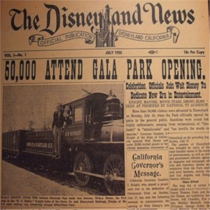 Disneyland News Vol 1 No 1